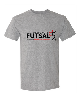 Youth Futsal 5's Cotton T-shirt / Gray / VBFutsal