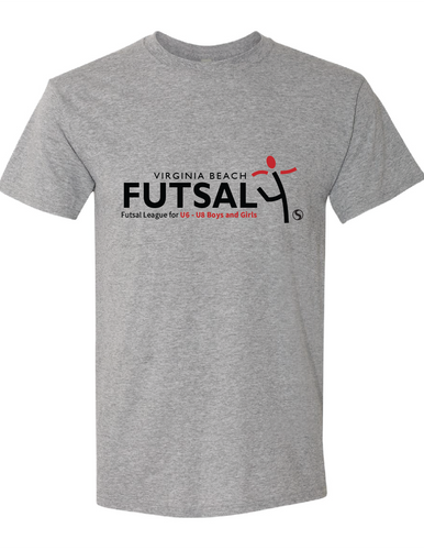 Youth Futsal 4's Cotton T-shirt / Gray / VBFutsal