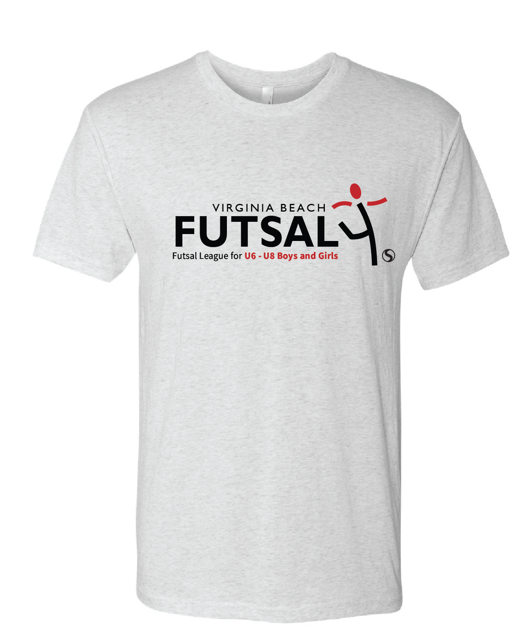 Youth Futsal 4's Cotton T-shirt / White / VBFutsal