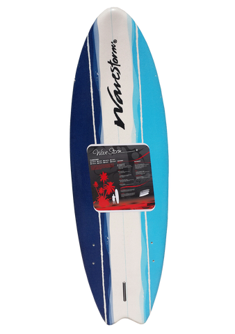 Soft 5'6 + Quillas y Leash - bajamarsurfshop