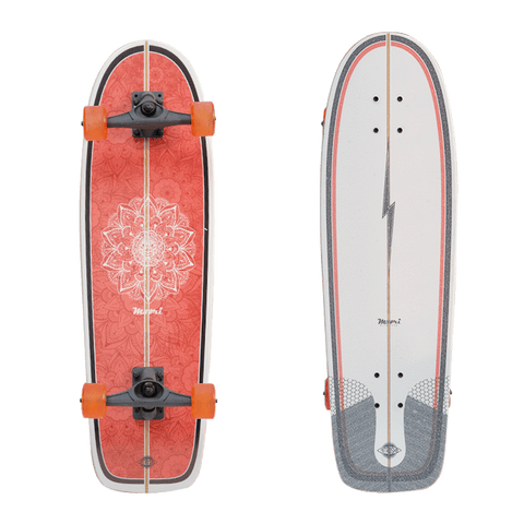 Surf Skate Maori Flower - bajamarsurfshop