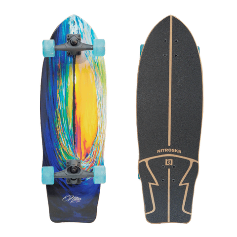 Surf Skate Wave Sunset - bajamarsurfshop