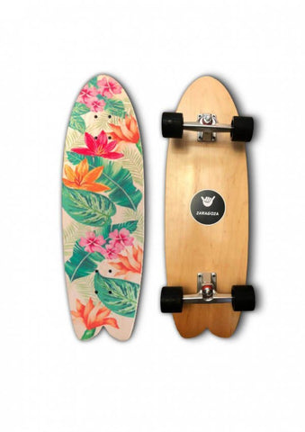 Surfskate - Flowers 31''