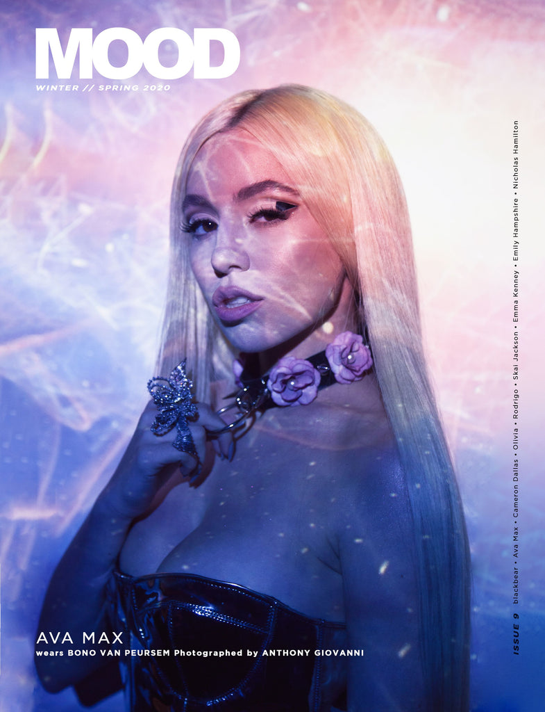 AVA MAX // MOOD MAGAZINE W/S20 ISSUE