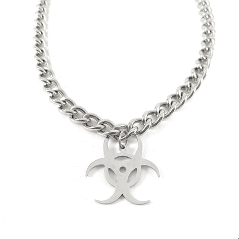 Biohazard Chain Necklace