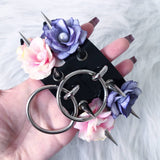 Flowers Ring Choker