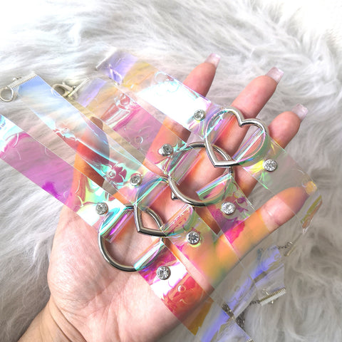 Iridescent LV Mini Choker