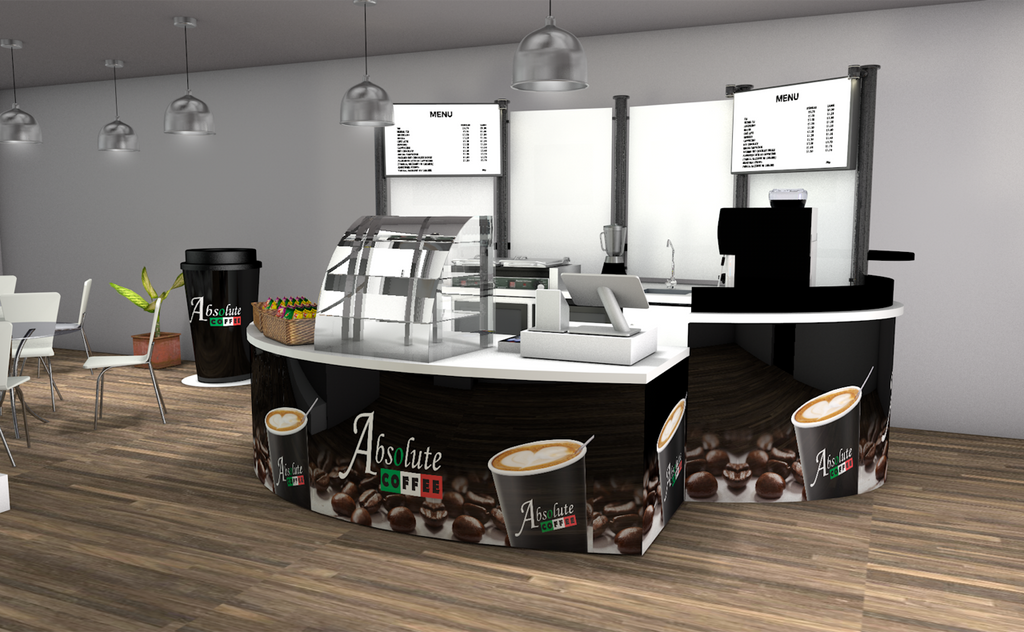 Full Cafe Fit out by Absolute Drinks
