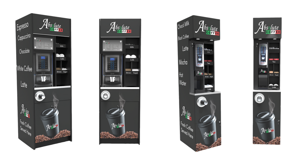 coffee towers and coffee to go solutions