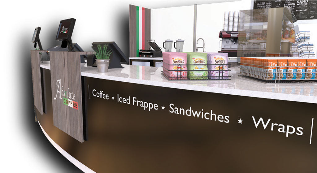 Example of cafe fit out