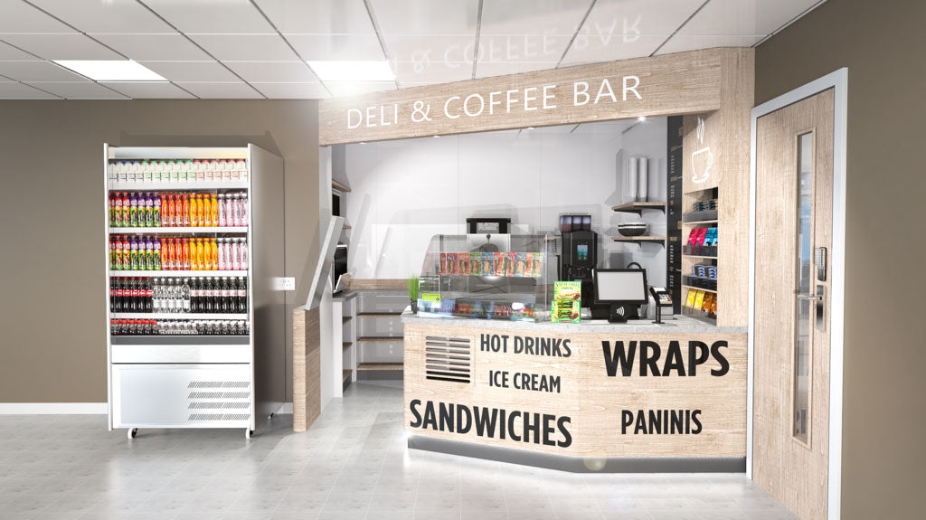 Example of deli bar fit out