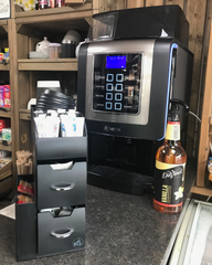 Italia Bean to Cup Coffee Machine installed at Hollins Green