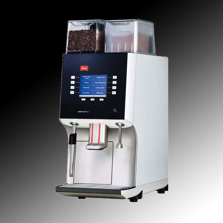 Melitta Cafina XT4 Commercial Coffee Machine side view