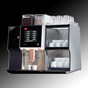 Melitta Cafina XT6 Commercial Coffee Machine with cup warmer and milk cooler