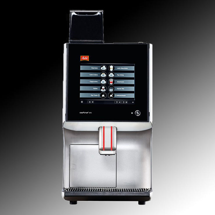 Melitta Cafina XT8 Commercial Coffee Machine front view