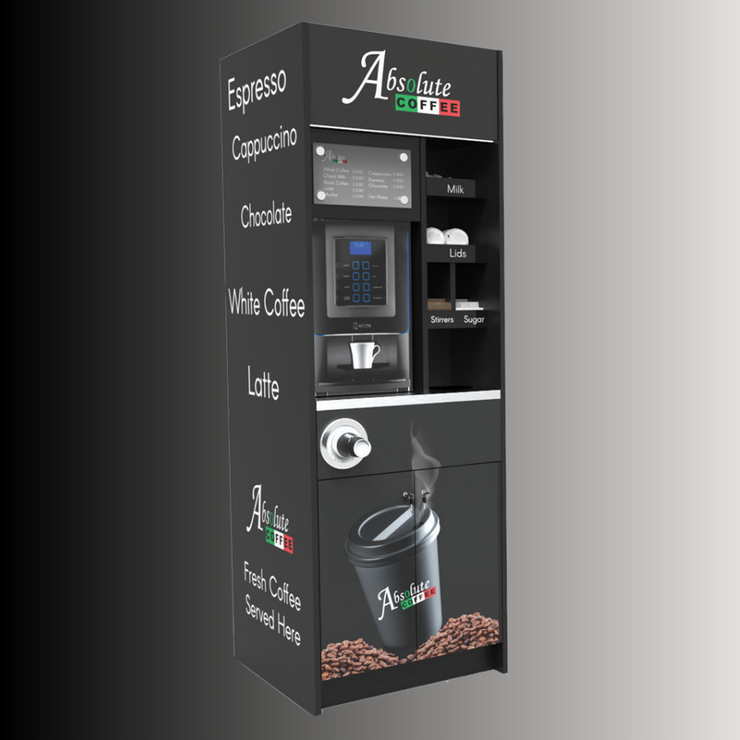 Italia Coffee Machine in Coffee To Go Tower