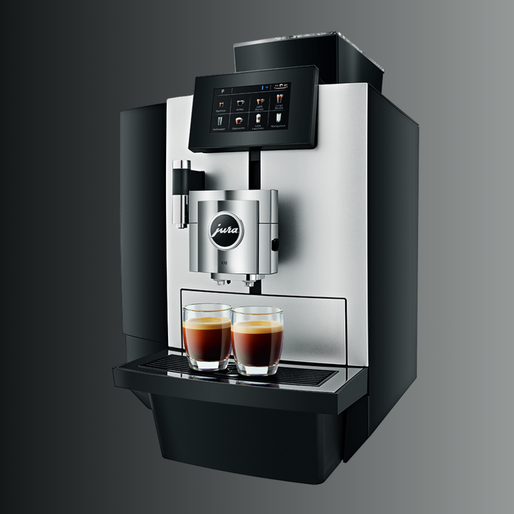 JURA 10 Bean to Cup Coffee Machine side profile