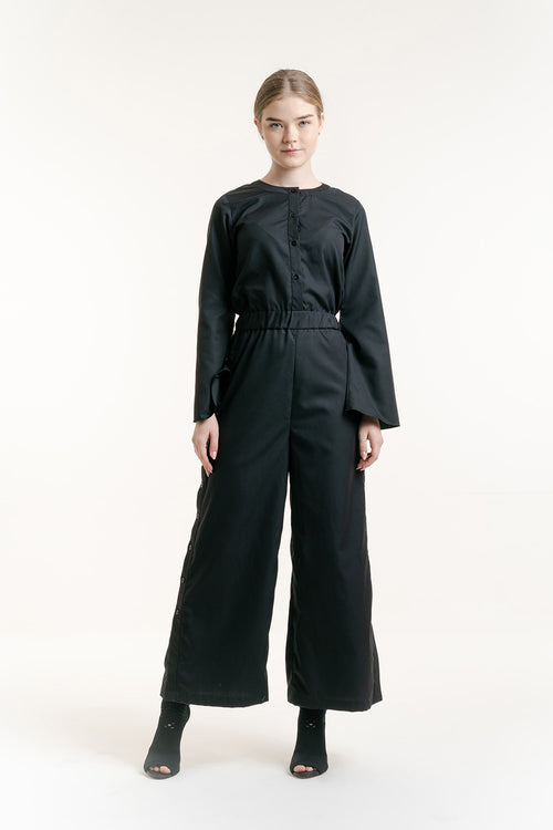 TERE BUTTON JUMPSUIT
