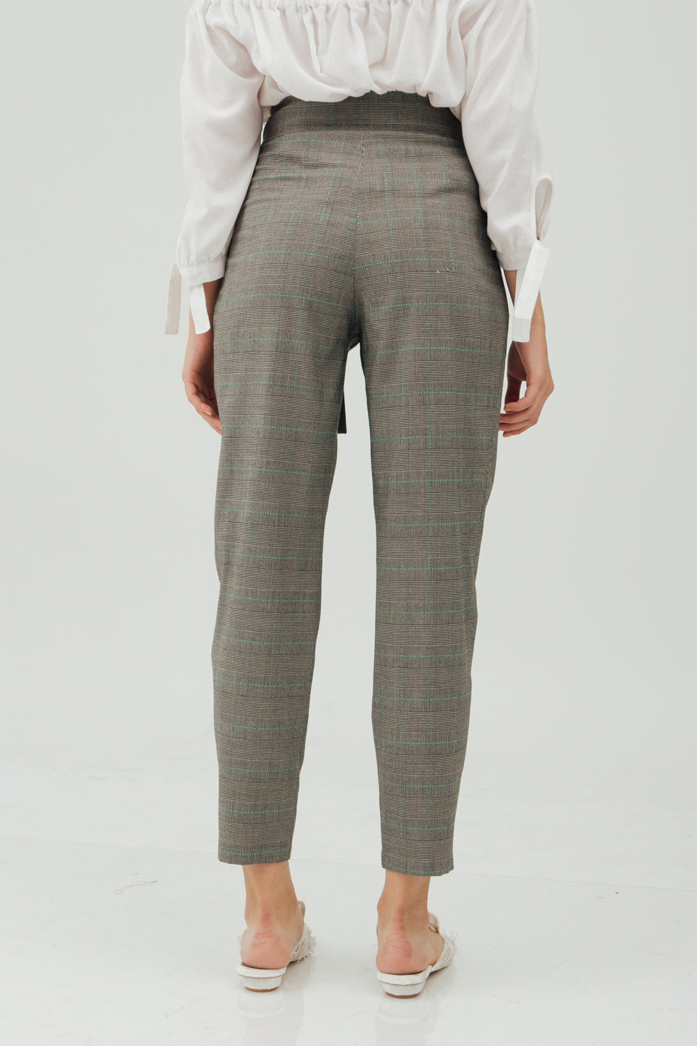 FRONT PLEAT PANTS