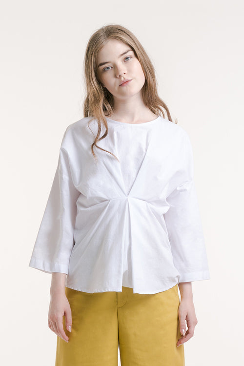 JADE COTTON BLOUSE