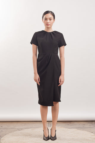 BOW NECK DRESS