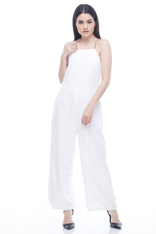 CASUAL TIED JUMPSUIT