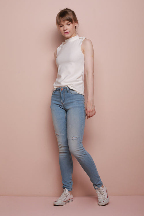 OMBRE WASHED DENIM