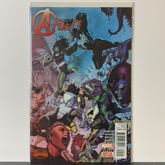 A-Force (2015) #5A (NM)
