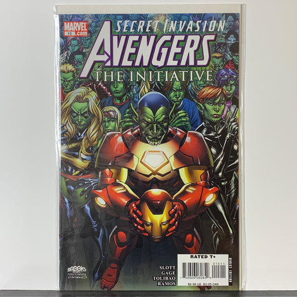 Avengers: The Initiative (2007) #15 (VF)