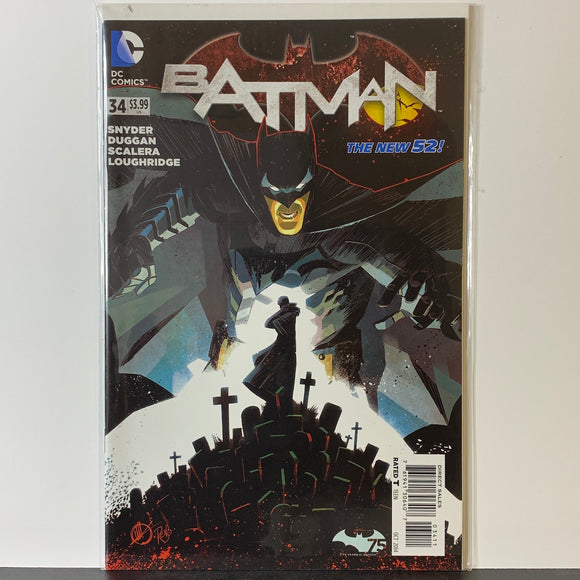 Batman (2011) #34A (VF)