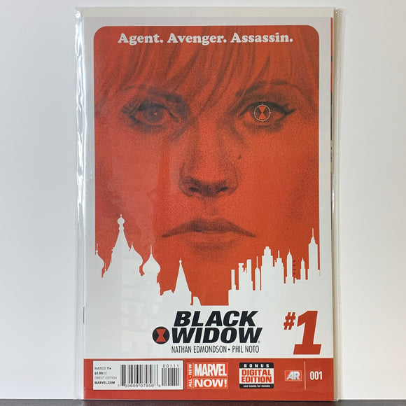 Black Widow (2014) #1A (VF)