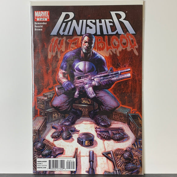 Punisher: In the Blood (2010) #2 (VF)