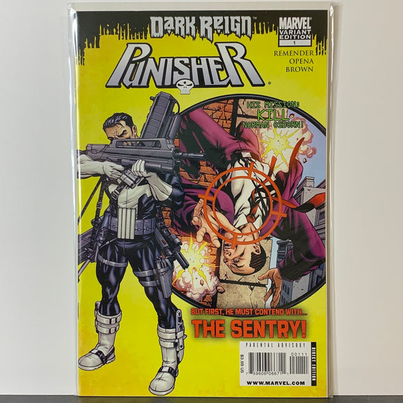 Punisher (2009) #1B (NM)