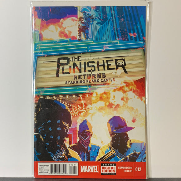 The Punisher (2014) #12 (NM)
