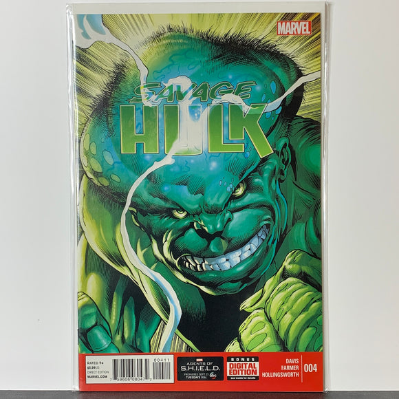 Savage Hulk (2014) #4A (NM)