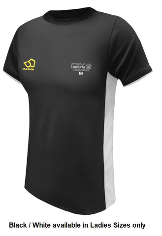 Ladies Netball Two Panelled  T Shirt