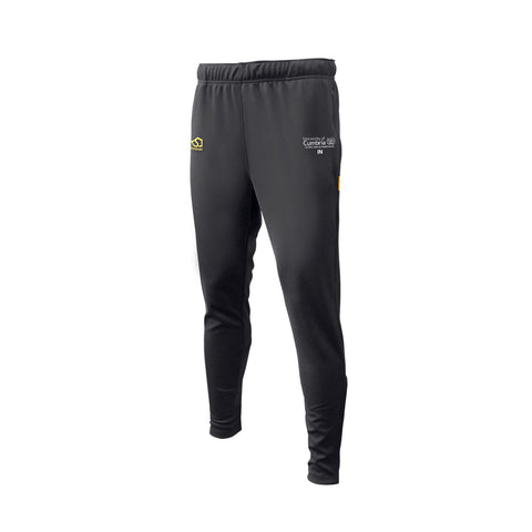 Men's Badminton Black Slim Fit Trousers