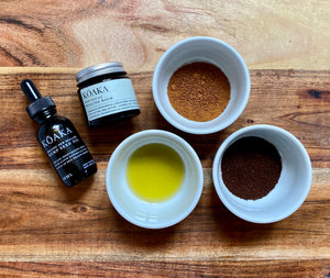 DIY Hemp & Coffee Exfoliating Scrub