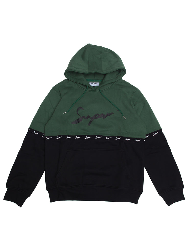Super Forest green hoodie