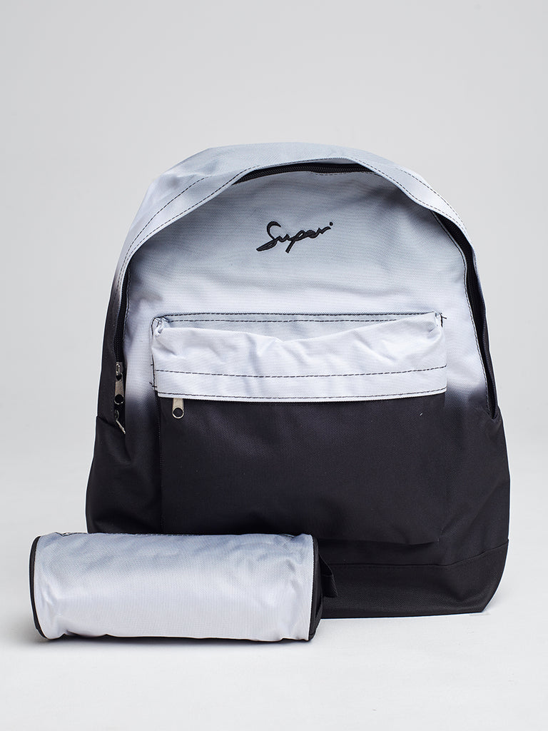 Super backpack and pencil case in fade