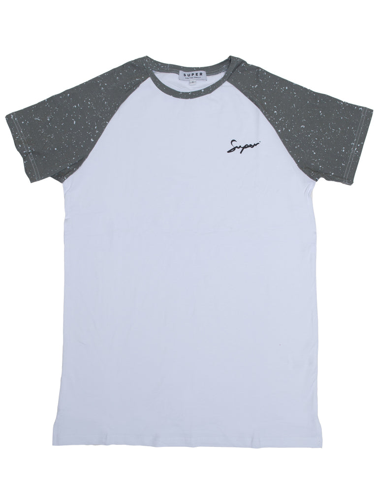 Super speckle raglan sleeve t-shirt