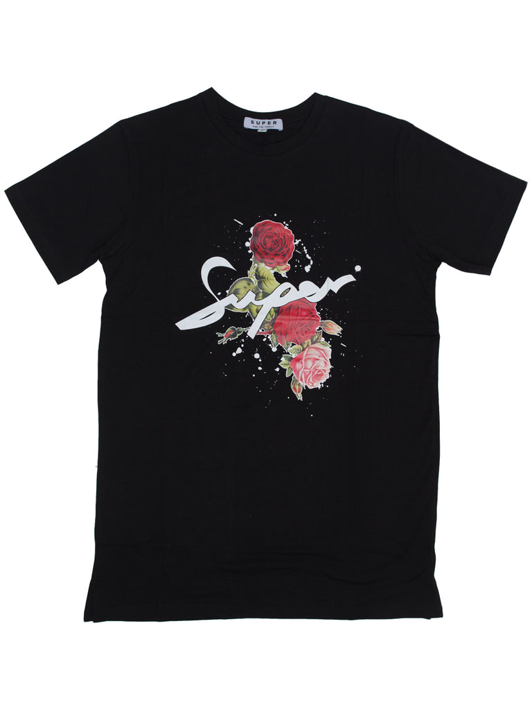 Super rose logo t-shirt