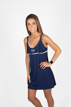 Logan Navy w/white trim Nightie