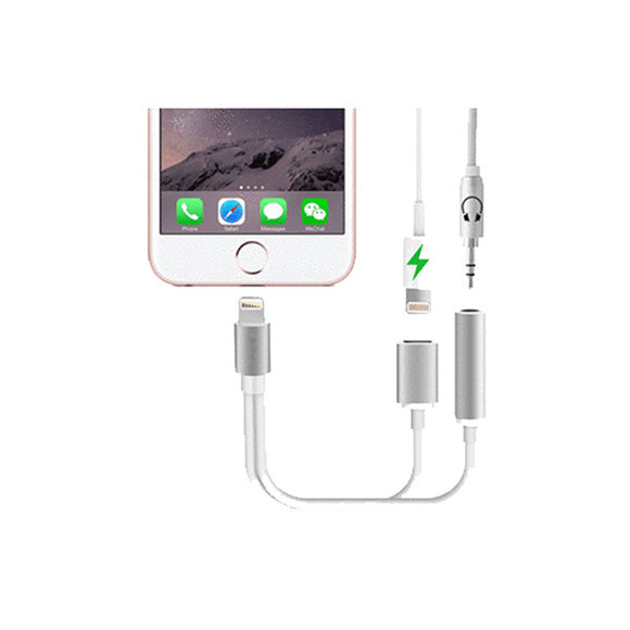 2 in 1 Earphone & Lightning Adapter for iPhone - FlashDeals