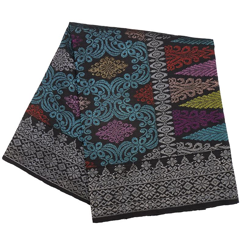 MENS SAMPIN SONGKET BUNGA PENUH LIGHT TURQUOISE