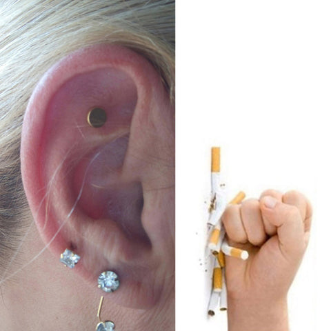 Acupressure Quit Smoking Magnet Patch - Gizmolo