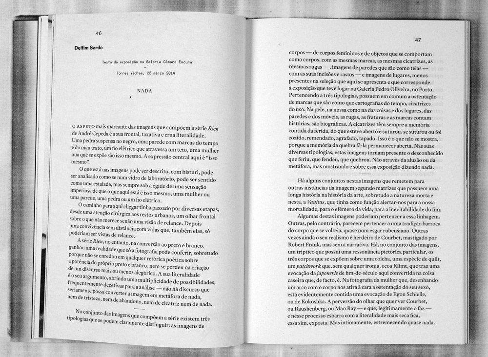 RIEN - Livro de Textos / Textbook by André Cepeda