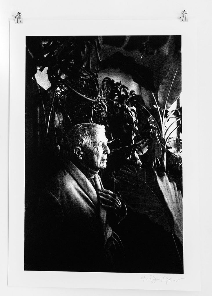 Silkscreen 'Paul Bowles, my Tangier, 1991' by Daniel Blaufuks