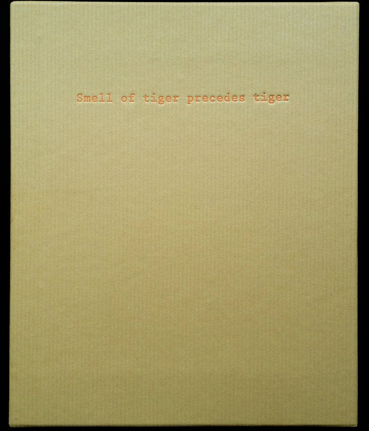SMELL OF TIGER PRECEDES TIGER by André Príncipe - SPECIAL EDITION W/ 4 PRINTS