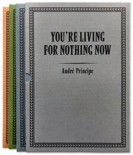 Load image into Gallery viewer, YOU'RE LIVING FOR NOTHING NOW (BOOK 1, 2, 3) by André Príncipe